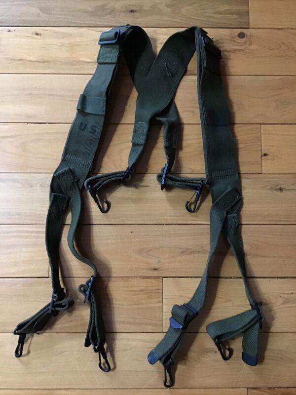 US Korean War M1945 Combat Field Suspenders