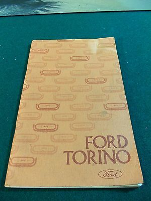 Genuine Car Truck Owners Manual   1975 Ford Torino Owners Manual