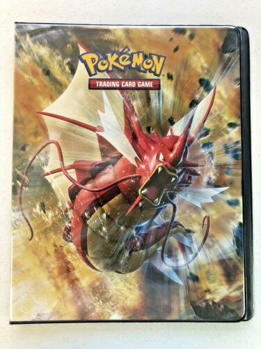 Pokemon XY9 BREAKPOINT Ultra-Pro Binder/Portfolio Gyarados/Scizor - USED - d3