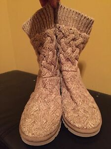 Genuine UGG knit boots