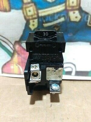 Bulldog Pushmatic Ite P130 30 Amp 1 Pole Circuit Breaker