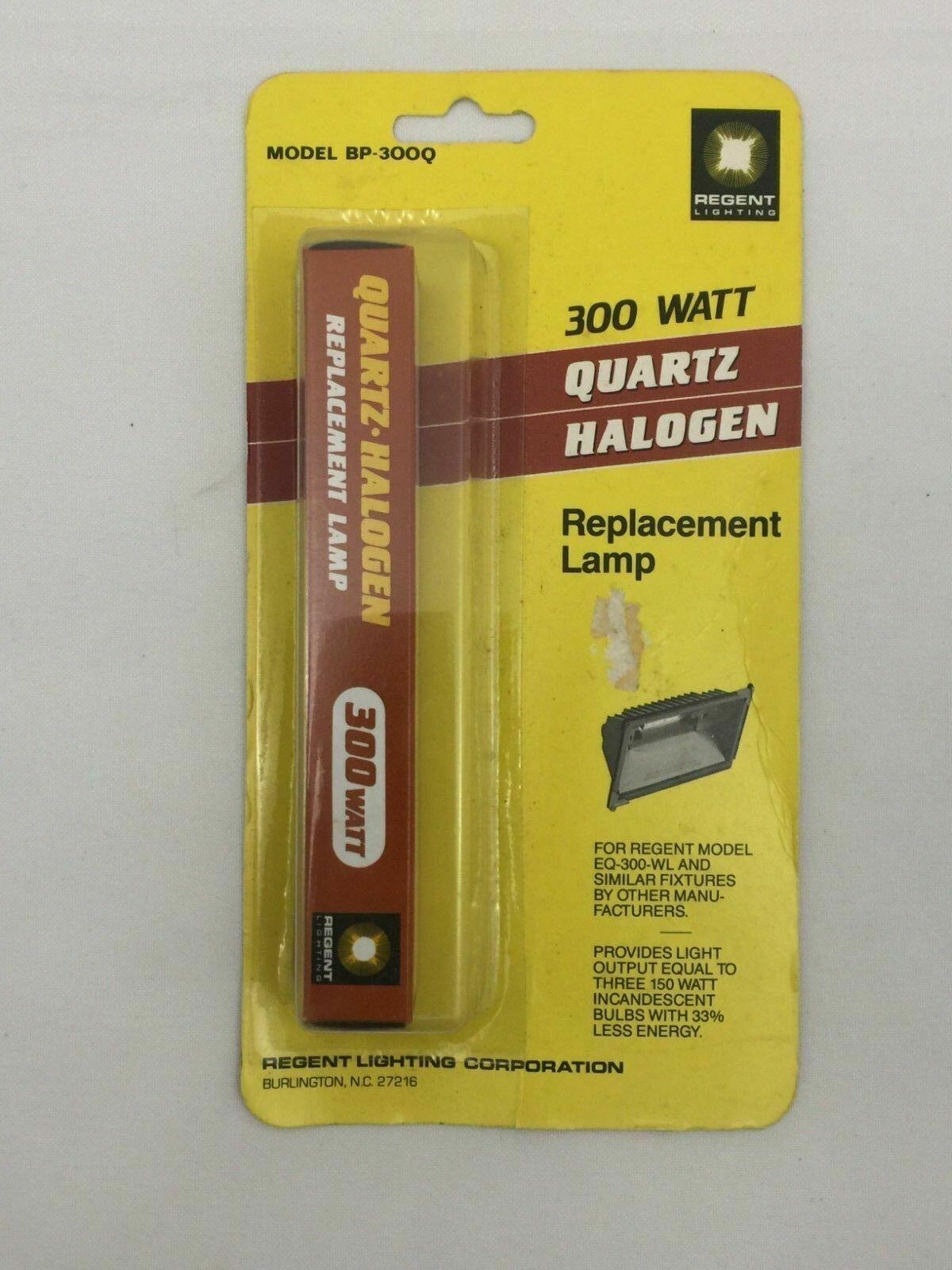Halogen Bulb 300w Quartz By Regent Cooper Lighting