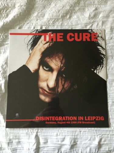 THE CURE Disintegration In Leipzig Live August 1990 FM Broadcast LP NEW SEALED