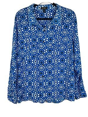 Jessica Simpson Women's Size 3X Blouse Cutout Drape Back Pockets Long Sleeve