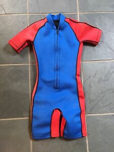 Coral child's XL wetsuit