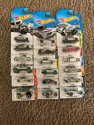 Hot Wheels 2017 Factory Sealed ZAMAC Set Walmart Exclusive Rare HTF New Lot 510