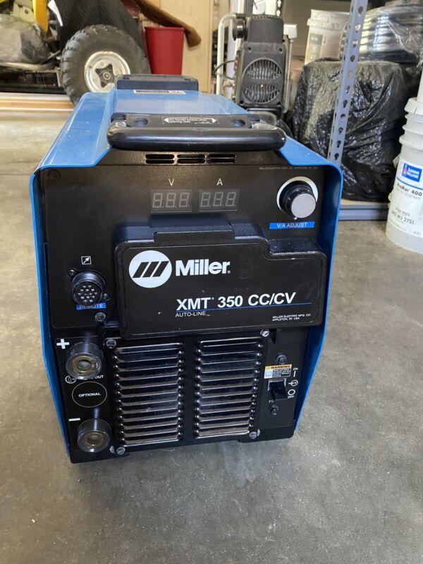 Miller XMT350 cc/cv Multiprocess Welder