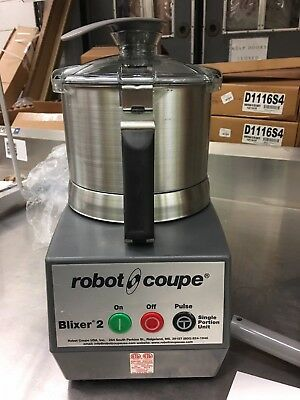 Robot Coupe Blixer 2 Single Portion Mixer Open Box