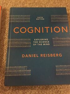 Cognition textbook and workbook