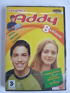 Addy-Lernspiel 8.Klasse Deutsch,Englisch,Mathe PC