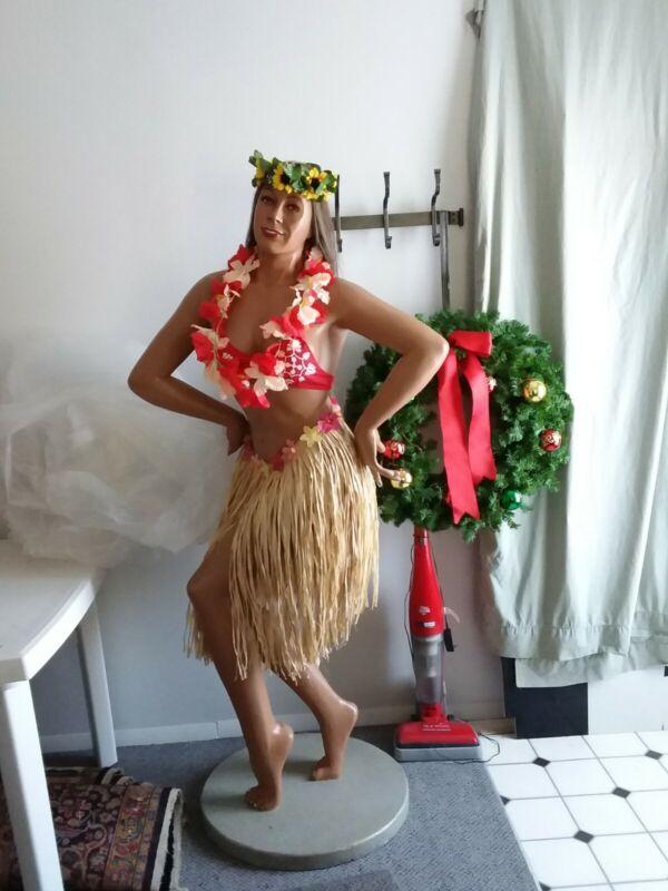 Full Size Hawaiian Hula Girl Mannequin