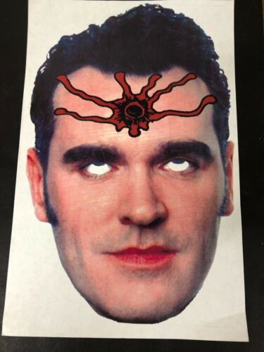 THE MEATMEN MORRISEY MASK 1990s PROP  CAN BE SIGNED BY TESCO VEE PUNK