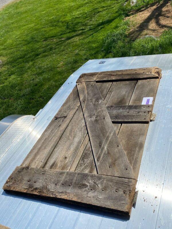 Reclaimed Antique Barn Doors