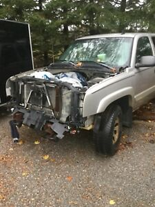 Chevy 4x4 parts truck