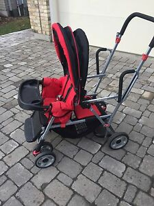 Joovy sit/stand double stroller