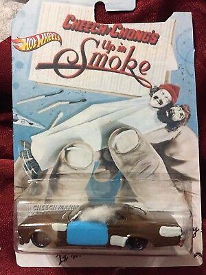 CUSTOM Hot Wheels Cheech And Chong 65 Impala Up In Smoke Movie Car