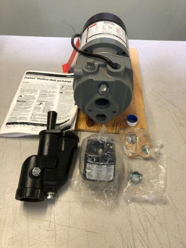 DAYTON SHALLOW WELL Jet Pumps 1D881 Rev E