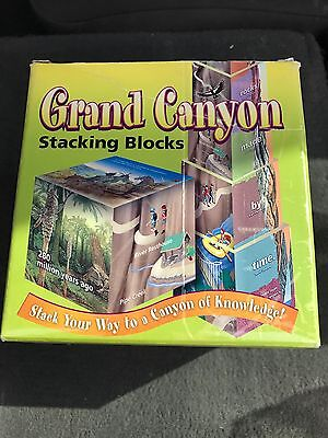 Stacking Blocks Grand Canyon Arizona Educational Knowledge History
