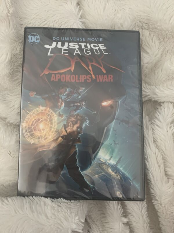 NEW - Justice League Dark: Apokolips War DVD NEW AND SEALED