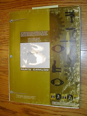 International Hough H-400b Parts Manual Book Catalog Wheel Pay-loader Guide List