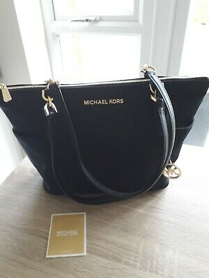 Michael Kors Black Medium Tote Bag