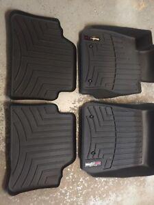 Weather tech car mats .