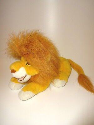 Original Disney - König der Löwen - Mufasa - Handpuppe Stofftier - 50 cm - Simba (König Der Löwen Puppe)