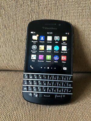 BlackBerry Q10 - 16GB - Black (Unlocked) Smartphone  segunda mano  Embacar hacia Mexico