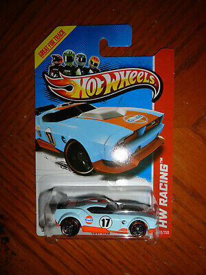 Hot Wheels Treasure Hunt basic Gulf Racing colors Fast Fish