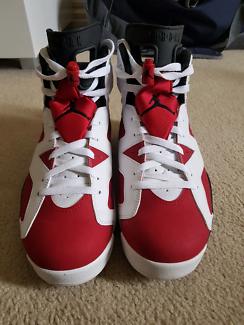 Jordan 6 Carmines - US 9.5