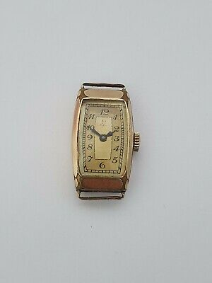 Omega watch vintage rectangular case