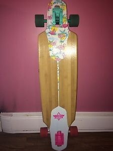 "Dusters 38"" Flamingo Longboard"