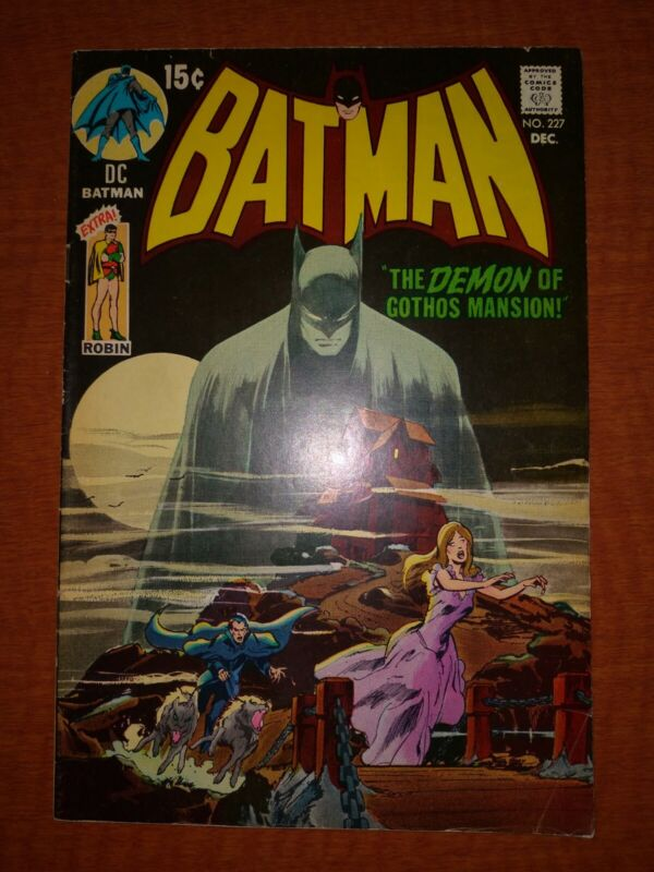 Batman 227 Neal Adams 1970