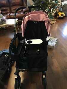 Bugaboo donkey twin with all accessories