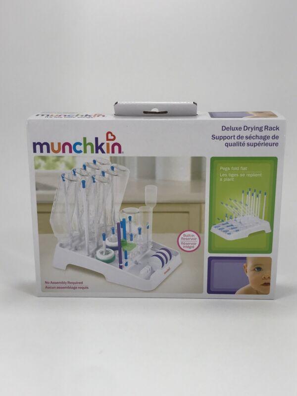 Munchkin Deluxe Bottle Drying Rack . Folds Flat For Storage