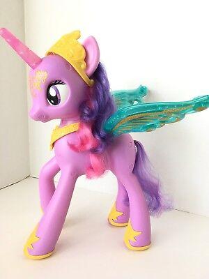 "My Little Pony Princess Twilight Sparkle 14"" Talking Singing Figure, used for sale  Acworth"