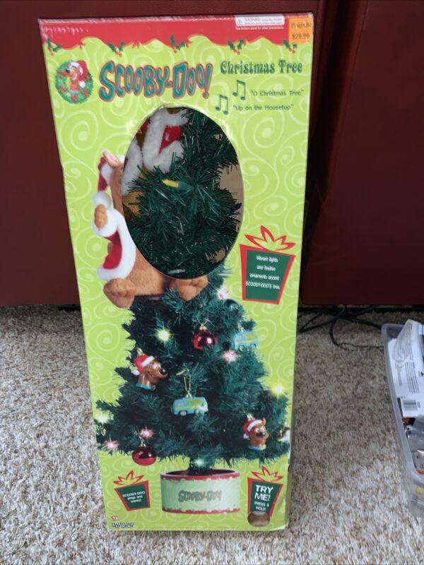 Singing Scooby-doo Christmas Tree Gemmy Sings & Dances Musical NRFB