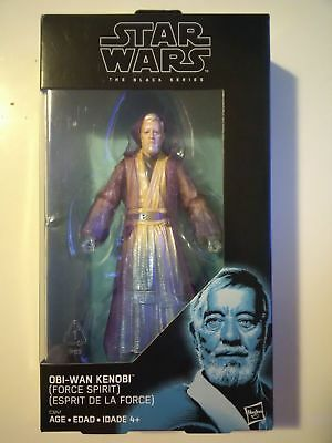 Star Wars Black Series Obi-Wan Kenobi Force Spirit 6 inch Walgreens exclusive !