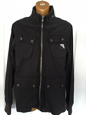 G-STAR MENS DISTRESSED BLACK JACKET ARTIC NON QUILTED OVERSHIRT L/S SIZE S SMALL for sale  Shipping to Ireland