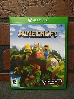 Minecraft Explorer's Pack Xbox One Pre-Owned FAST FREE SHIPPING