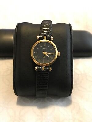 GUCCI LADYS VINTAGE CLASSIC, ZAPHIRE QUARTZ 100% SWISS MADE USED ALL ORIGINAL
