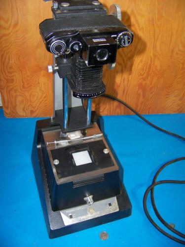 Repronar 805 Slide Duplicator Film Photo Copier Adjustable Height Stand Enlarger