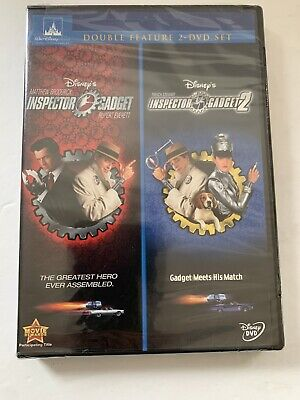New Disney's DVD Inspector Gadget/Inspector Gadget 2 Double Feature 2-DVD Set