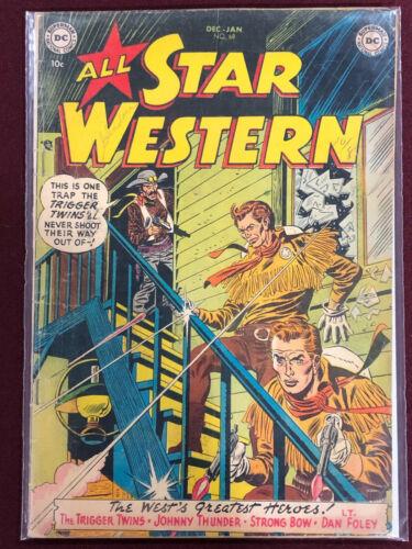 ALL STAR WESTERN COMICS 68 Professionally Graded VG+ 3.5