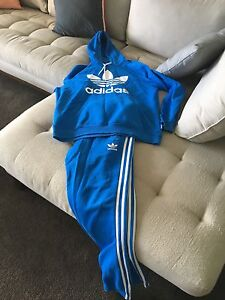 Adidas medium blue tracksuit Arncliffe Rockdale Area Preview