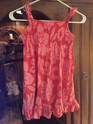 Carters Girls Pink Floral Sundress Size 5 ~ Adorable !!