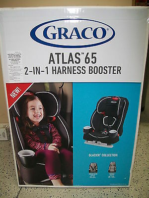 Brand New Graco Atlas 65 2-in-1 Harness Booster, Glacier