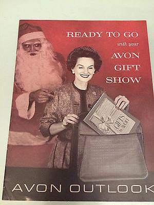 """RARE!! Vintage AVON """"Outlook"""" Magazine C15, 1961 - MINT CONDITION!"""