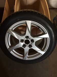Audi rims and snow tires London Ontario image 1
