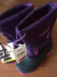 Kamik Winter Boots girls size 9 New